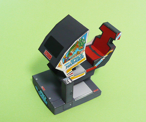 ゲーム筐体 スペースハリアー