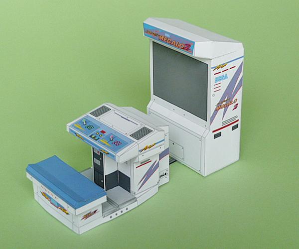 ゲーム筐体 スーパーメガロ2&アストロシティ