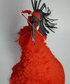 バイオリン乙女(赤ドレス)